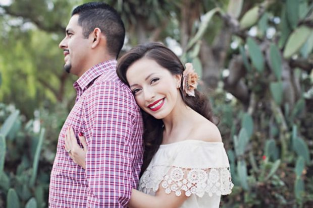What to Wear for Your Engagement Photos, via WeddingWire - Wedding Belles Blog