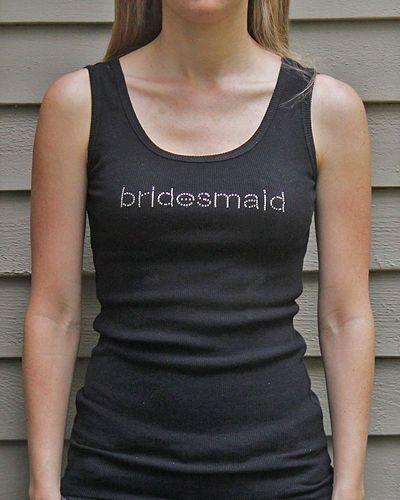 On Sale: Bridesmaid Tanks - Wedding Belles Blog