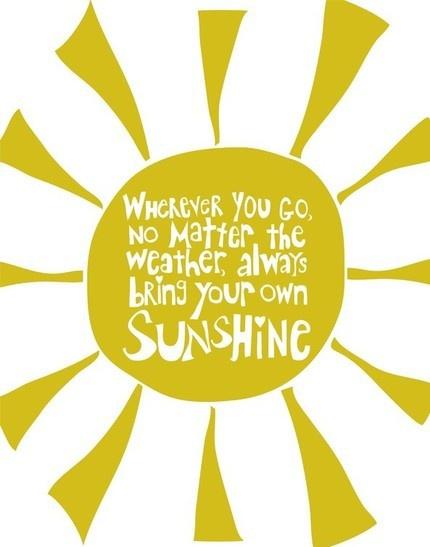 Bring Your Own Sunshine | Trés Belle