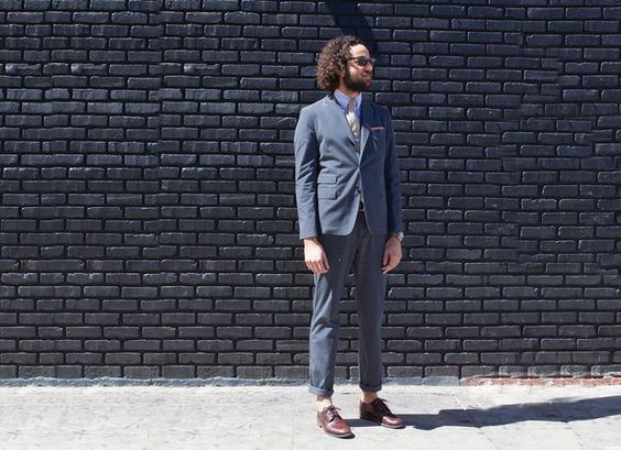 Apolis (Certified B Corporation) Suit. from Mission Impossible: Finding a Fair Trade Men's Suit | Très Belle