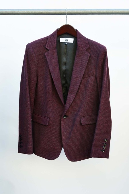 Brave GentleMan Burgundy Blazer. from Mission Impossible: Finding a Fair Trade Men's Suit | Très Belle
