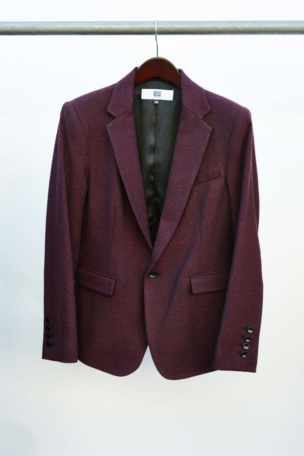 Brave GentleMan Burgundy Blazer. from Mission Impossible: Finding a Fair Trade Men's Suit | Fairly Southern
