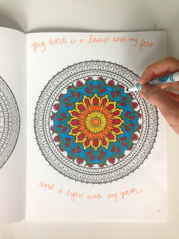 Prayer/Worship/Meditation Coloring for Stress Relief and Spiritual Growth | Très Belle