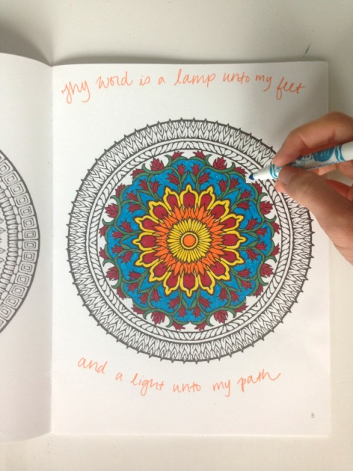 Prayer/Worship/Meditation Coloring for Stress Relief and Spiritual Growth | Fairly Southern