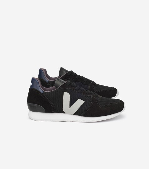 Veja Holiday Low Top Black Oxford Grey | Très Belle