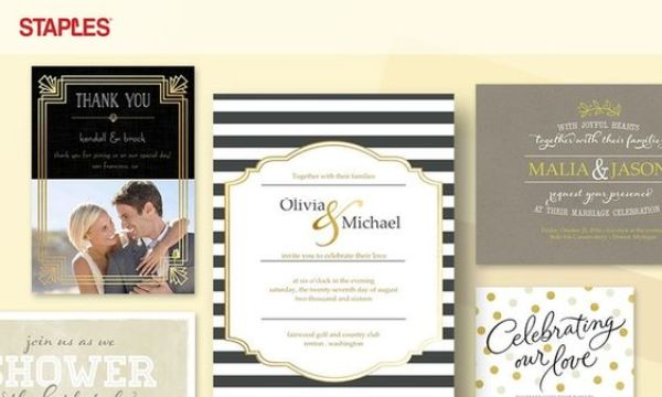71% Off Staples Wedding Invitations | Fairly Southern