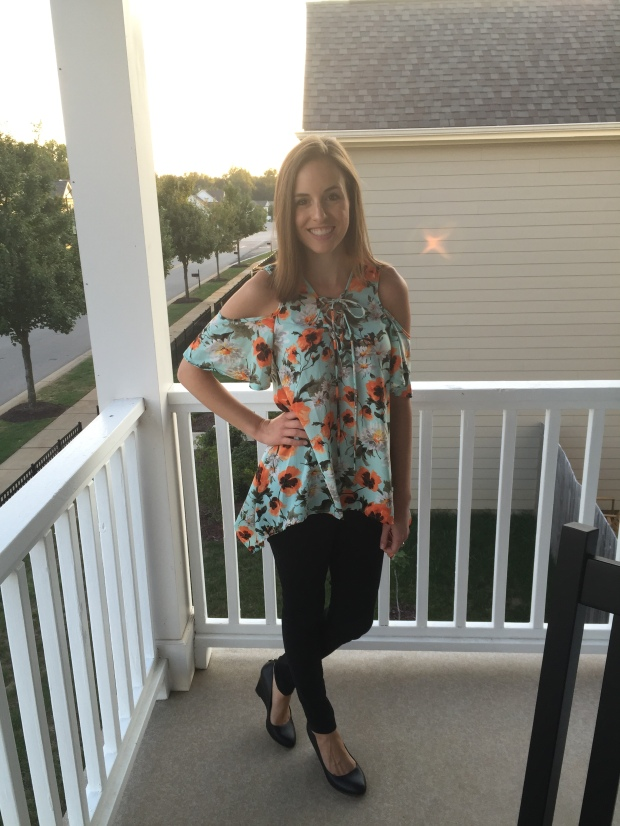 Floral Grace & Lace Top | Fairly Southern