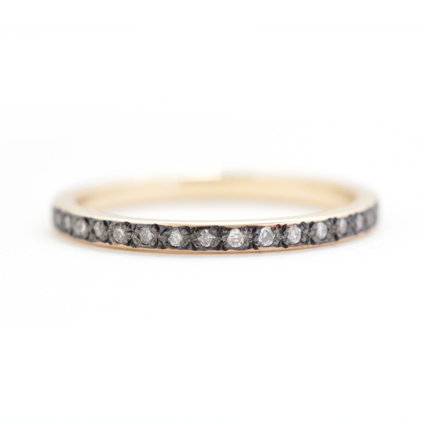 Aili Jewelry - conflict-free diamonds and recycled metals from sustainable certified companies. Ethical engagement/wedding rings! | Fairly Southern