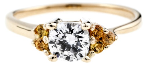 Bario Neal: Wedding and engagement rings feature Fairmined gold, ethically sourced gemstones and reclaimed metals. | Trés Belle