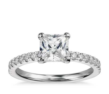 Blue Nile conflict-free diamonds and responsibly sourced metals. Ethical wedding and engagement rings! | Fairly Southern