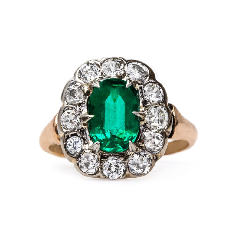 Trumpet and Horn: Vintage engagement rings that were sourced prior to the period of conflict mining. Eco-friendly! | Fairly Southern