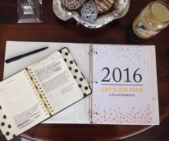 PowerSheets Goal Setting Workbook by Lara Casey/The Cultivate Shop | Trés Belle