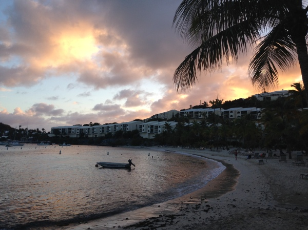 St. Thomas US Virgin Islands Sunset | Trés Belle